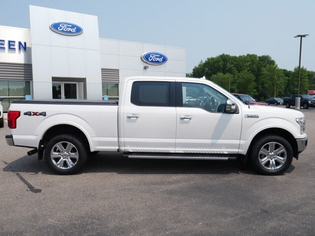 Used 2018 Ford F-150 Lariat with VIN 1FTFW1EG1JFD52782 for sale in Annandale, Minnesota