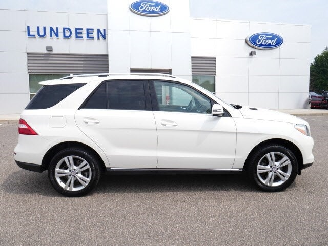 Used 2013 Mercedes-Benz M-Class ML350 with VIN 4JGDA5HB1DA115297 for sale in Annandale, Minnesota